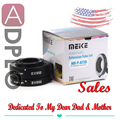 Meike Auto Focus AF confirm Macro Extension Tube Set Suit for Panasonic LUMIX GF3 G3 GH2 G2 GF2 OM-D E-M1 E-M5 Pen E-P3 E-PL3
