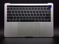 Новинка 661 05334 серебро Топ чехол с Батарея и сенсорная панель для MacBook Pro 13 2016 a1706 США Макет