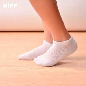 Image 2 - 5 Pairs/lot Baby Socks Summer spring and autumn Mesh sports Cotton Kids Girls Boys Children Socks For 1 16 Year