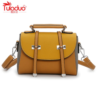 Fashion Patchwork Women Shouleder Bags High Quality PU Leather Women S Crossbody Bags Famous Designer Brand