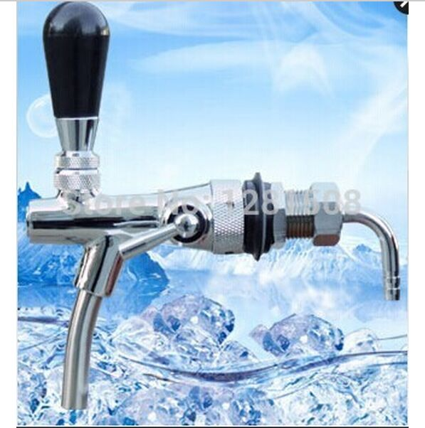 On Sale!Beer tap faucet Adjustable Faucet with chrome plating homebrew making tap