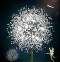 Candelabros modernos luz LED G9 fuente de luz de ahorro de energía candelabros de cristal de lujo accesorios de iluminación