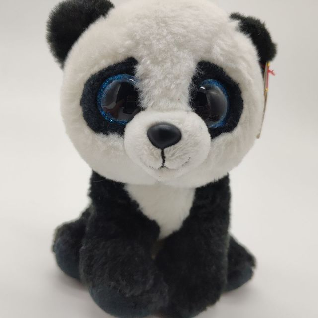 448e889e990 ming panda with tag label TY BEANIE BOOS COLLECTION 15CM 6