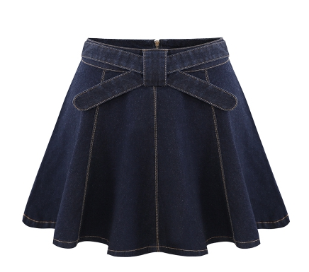 Popular Navy Denim Skirt-Buy Cheap Navy Denim Skirt lots from ...