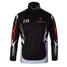 Новая мужская брендовая одежда для рыбалки с защитой от ультрафиолета Влагоотводящая дышащая футболка с длинным рукавом для рыбалки Camisas Pesca