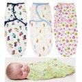 Fraldas de Algodão Orgânico Verão Swaddleme Parisarc Infantil Recém-nascidos Do Bebê Fina Envelope Envoltório Swaddling Swaddle Cobertor Do Bebê