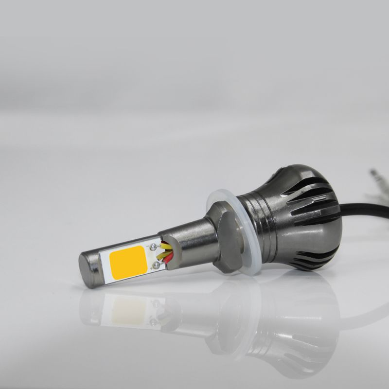 Car Lights Car Headlight Bulbs(led) 2pcs H8 H11 H9 Led Fog Lights Bulbs White Yellow 6000k Flash Car Lights Car Trunk Suv Rv Hid Headlight Hot