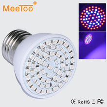 New Full Spectrum E27 15W 41 Red +19 Blue Led Grow Lamps For Flowering Plant and Hydroponics Outdoor Lighting 60Leds Bulb Lamp
