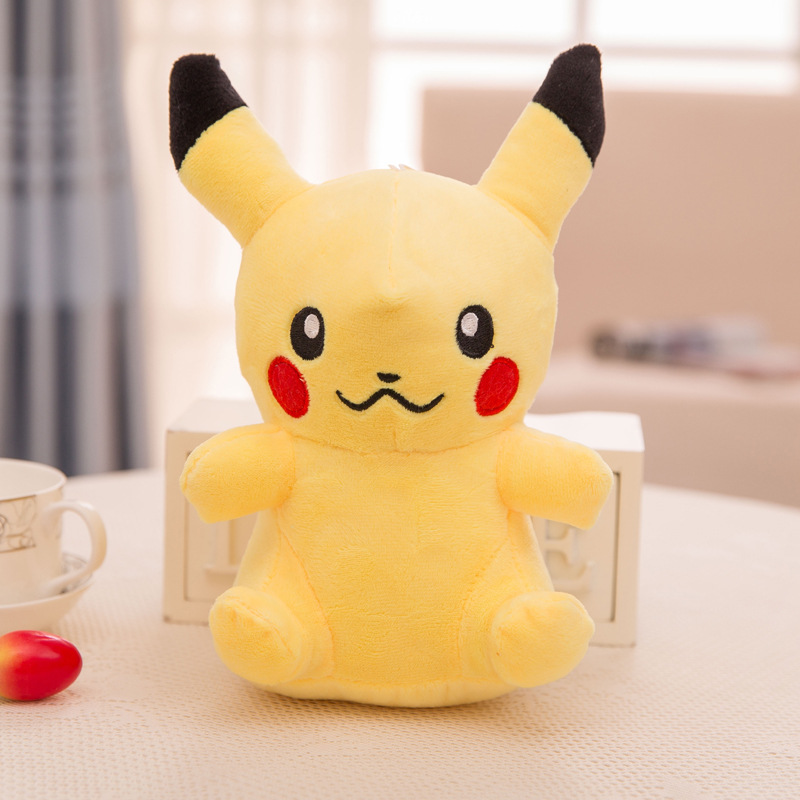 Anime Game Pokemon Pikachu Snorlax Cosplay Props 10 Styles Cute Elf Baby Pet Toys Plush Doll Pillow Kids Teens Gift Decoration Costume Props