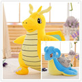 Pocket Monster Pokmon Lapras Dragonite Short Plush PP Cotton Stuffed Doll Toys