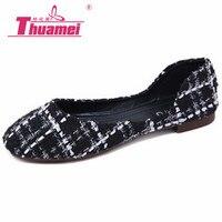 Новинка; Женская удобная обувь на плоской подошве; женская обувь; слипоны; сезон весна лето осень; цвет черный, синий; # Y0235638Q