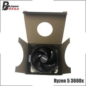 Image 5 - AMD Ryzen 5 3600X R5 3600X3.8 GHz שש ליבות עשר חוט מעבד מעבד 7NM 95 W l3 = 32 M 100 000000022 שקע AM4 חדש עם מאוורר