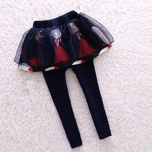 Autumn Winter Girls Leggings Fashion Pantskirt Bottom Baby Girl Pants 3-13T Baby Legging Children Clothing Kids Trousers Leggins