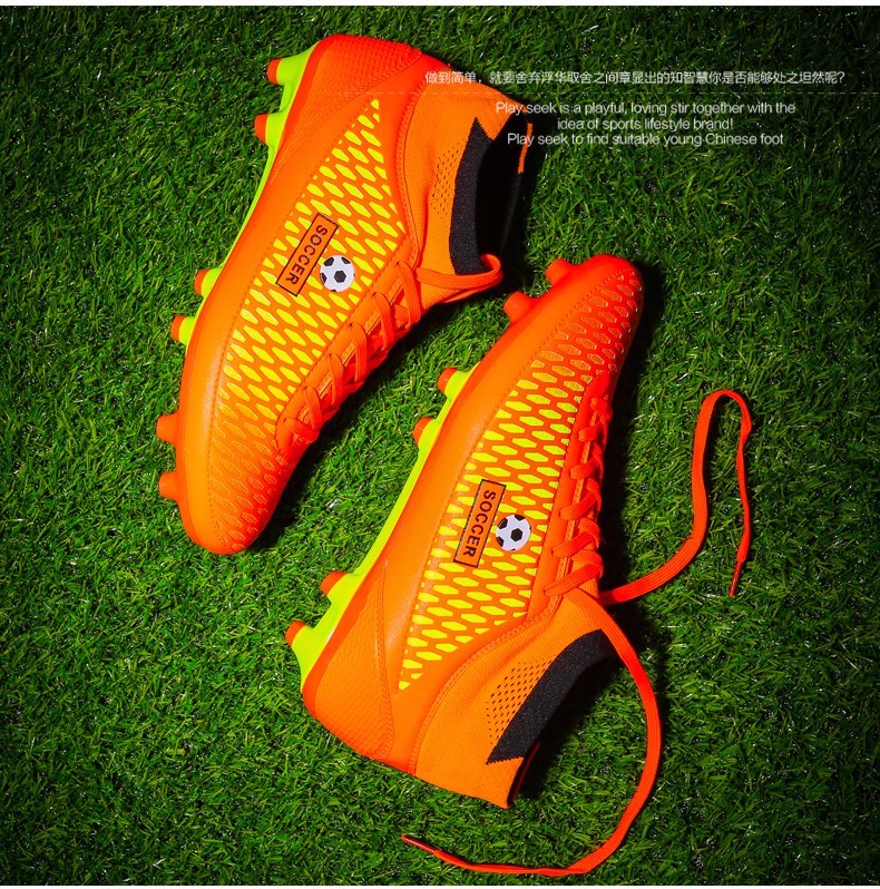 High Ankle Football Boots Kids Botines Botas Futbol 2017 Youth Superfly Soccer Sports Shoes Outdoor Training Sneakers Hot Sale15