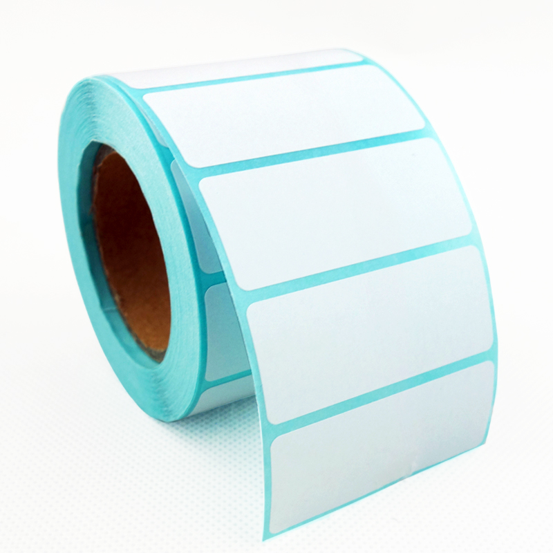 Direct  Thermal Labels, 2 Inch X 1 Inch (50mm X 25mm), White, Permanent Adhesive, 800 Per Roll, 4 Rolls/3200 Labels