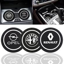 Модные автомобильные подставки, силиконовые эпоксидные подставки, Автомобильные украшения для Alpha, Opel, Renault, KIA, BMW, Benz, Audi, VW, Honda, Nissan, Toyota и т. д