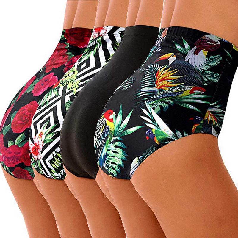 High Waist Plus Size Bikini Bottoms