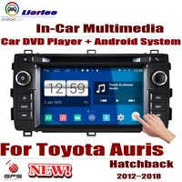 Car DVD Player For Toyota Auris (E180) / Corolla Hatchback 2012 2018 GPS Navigation Android 8 Core Radio BT SD USB AUX WIFI