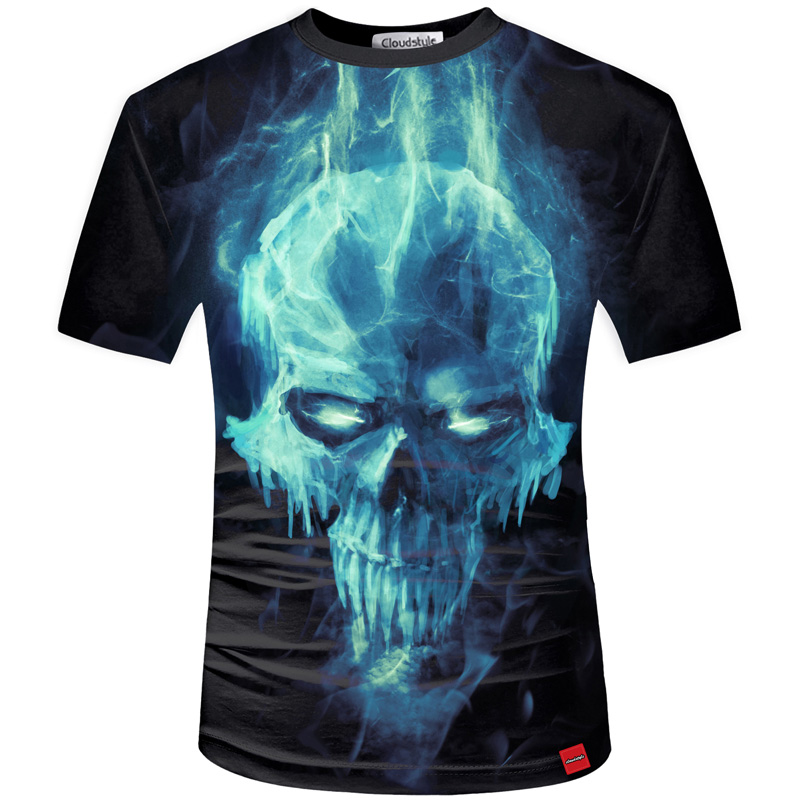 HTB1Hl5rSFXXXXaBapXXq6xXFXXXH - Men's New Fashion 2018 - Quality 3D Skull Print Design Stylish Casual T-Shirt