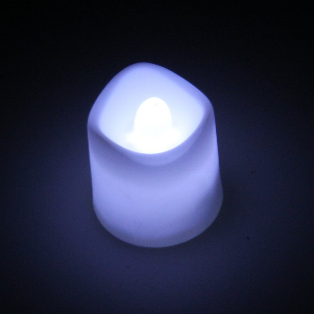 ICOCO Flameless Votive Christmas Candles Battery Operated Flickering LED Tea Light