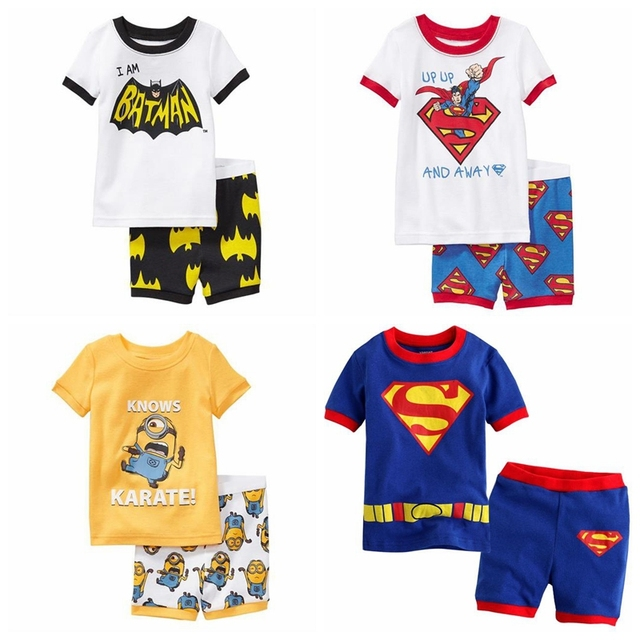 61aaa20ea4a20 new style children clothing sets boys pajamas kids pajama sets ...