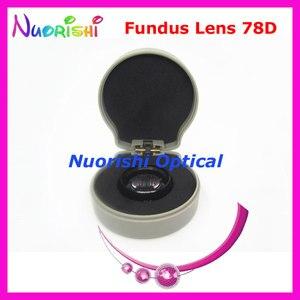 Image 3 - ¡78DM tan bueno como la lente Volk! Funda de plástico duro para lente de cristal de contacto, lámpara de hendidura para Fundus oftálmico, envío gratis