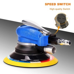 Image 5 - SPTA 6 Inch Disk Air Sander Dual Action Polisher Random Orbital Pneumatic Power Tools Buffing Machine for Car Metal Burnishing