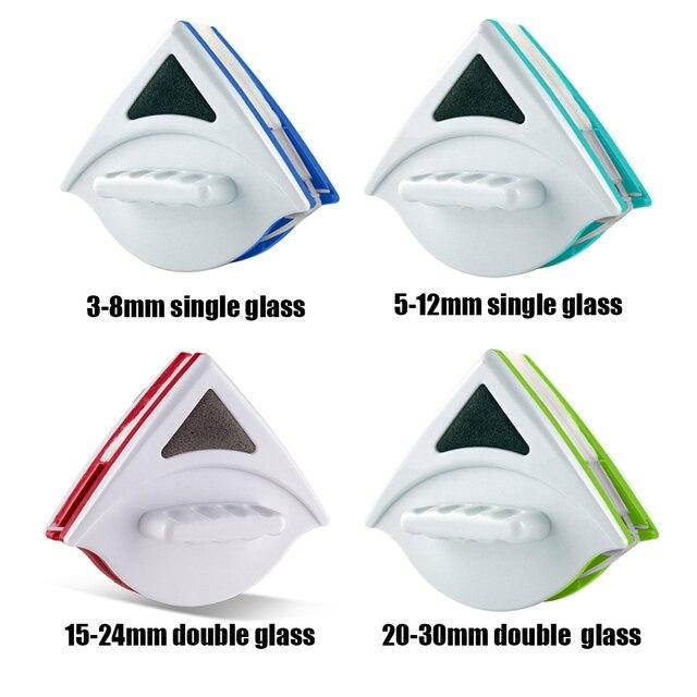 Magnetic Limpador de Janela para Janelas De Vidro Dupla Face Limpador De Vidro Escova de Lavar Adequado para Única Dupla Engrossar Vidro