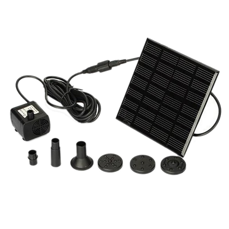 Solar Water Pump Power Water pomp Panel Fountain Pool Garden Pond submersible Watering Pool Automatical for Fountains WaterfallSolar Water Pump Power Water pomp Panel Fountain Pool Garden Pond submersible Watering Pool Automatical for Fountains Waterfall