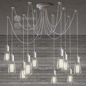 The design of the lamp North European style rural industrial bedroom retro living room bar Edison pendant light ZH lo1030
