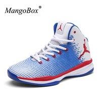 MangoBox 2017 Couples Basketball Sneakers New Cool Men Sport Shoes For Basketabll Sport Women Basketball Shoes