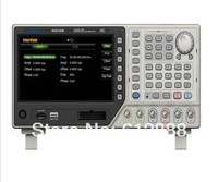 2CH 20MHz 250MSa S DDS Function Signal Arbitrary Waveform Generator 64M Memory Depth USB 7 TFT