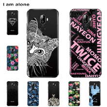 цена на I am alone Phone Cases For Oukitel U18 5.85 inch Solf TPU Cellphone Fashion Cover For Oukitel U18 5.85 inch Shipping Free
