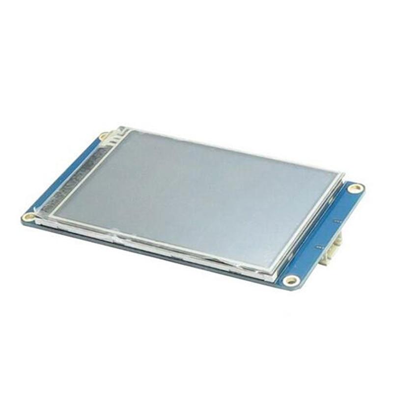 1PC Version NX4832T035 3.5'' UART HMI Smart LCD Display Module Screen for Arduino TFT Raspberry Pi LCD Modules Demo Board uart hc 05 rs232 ttl wireless bluetooth transceiver module for arduino raspberry pi