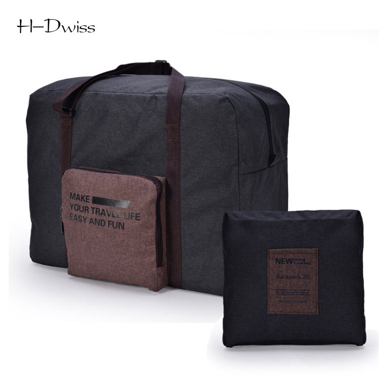 HDWISS Large Capacity Waterproof Folding Travel Bags Men Women Luggage  Duffel Duffle Bag Carry on Hand Luggage Packing Cubes T31 60e7c55784164