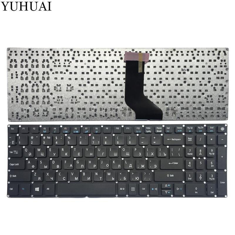 NEW RU keyboard for ACER Aspire ES1 523 ES1 523G ES1 533 ES1 572 F5 521 Ru laotop keyboard black-in Replacement Keyboards from Computer & Office on