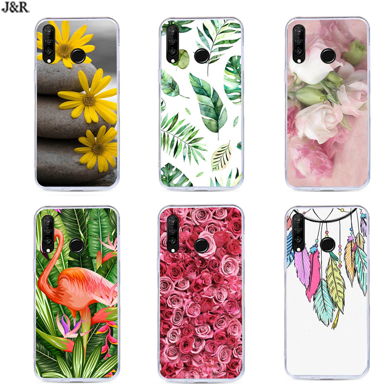 P30 Lite Cover For Huawei P30Pro Case Silicone TPU Back Covers Phone Bags For Huawei P30 Pro VOG-L29 ELE-L29 P 30 Lite Shell