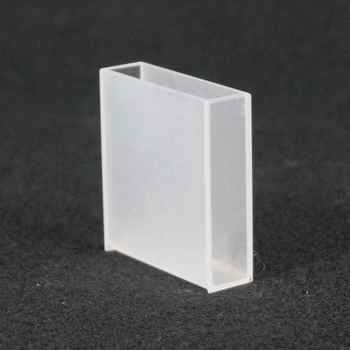 40mm Path Length Jgs-3 Quartz Cell Cuvette Cell With PTFE Lid For For Infrared Spectrometer - DISCOUNT ITEM  7 OFF Education & Office Supplies