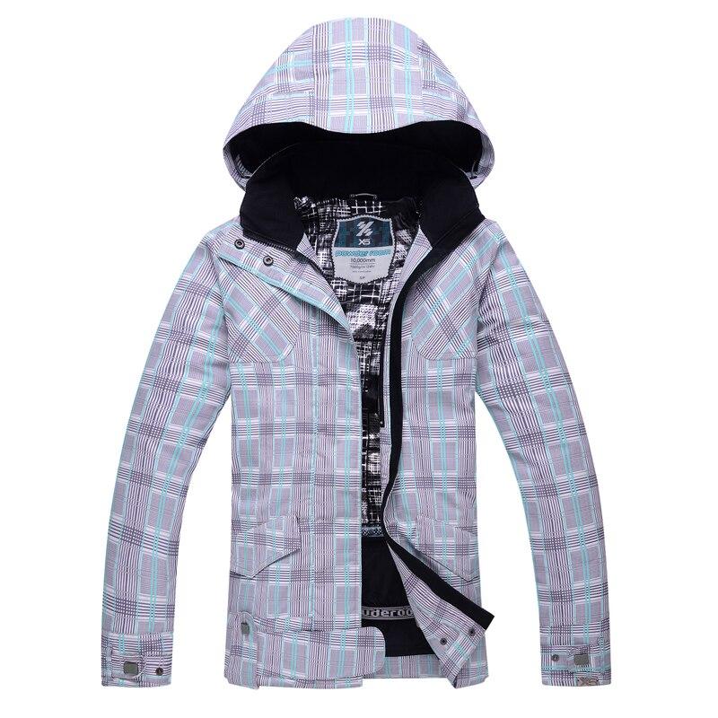 Prix pour 2016 nouveaux hiver en plein air ski costume modèles féminins placage double conseil ski vêtements coupe-vent imperméable chaud