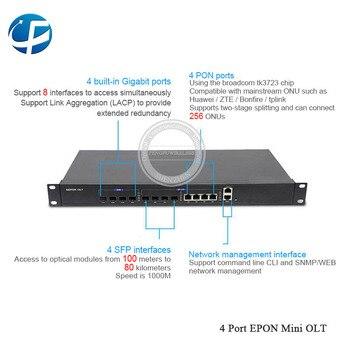2019 High quality AliExpress new items 1G EPON MINI 4 PON ports 4