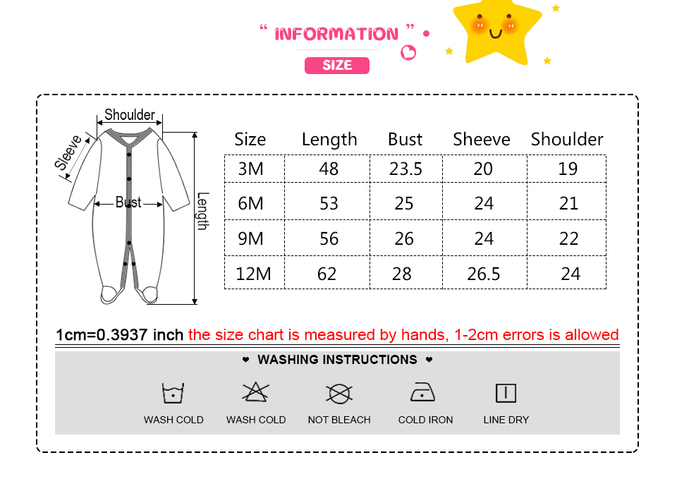 HTB1Hl8auviSBuNkSnhJq6zDcpXaz Baby Boy Rompers Infantil Roupa Newborn Girls Clothes 100% Soft Cotton Pajamas Overalls Long Sheeve Baby Rompers Infant Clothing