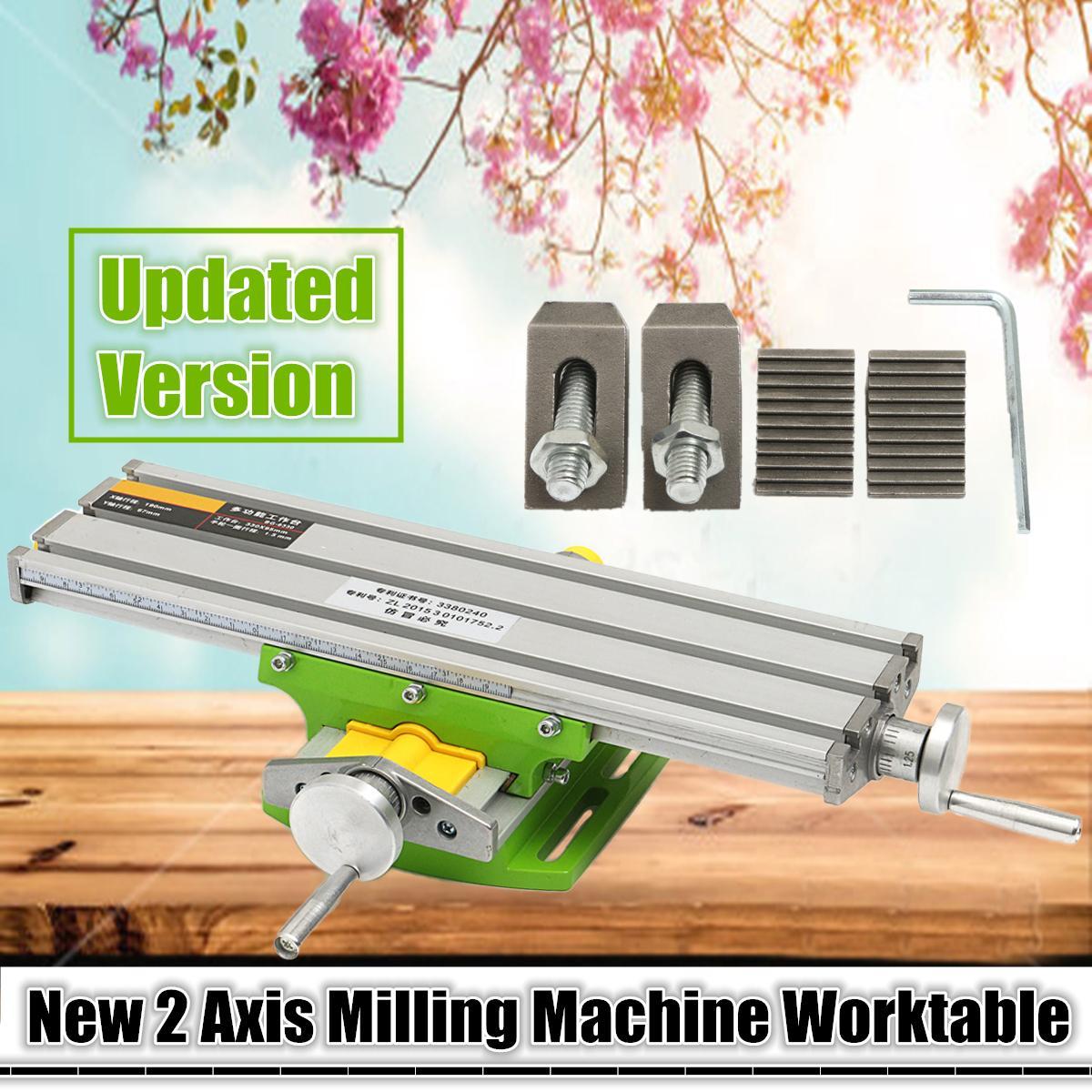 1 pc Mini Multifonctionnel Croix Table De Travail/Glisser Support de Table Pour Forage Fraisage Machine Banc Forage Stent Outils BG6330