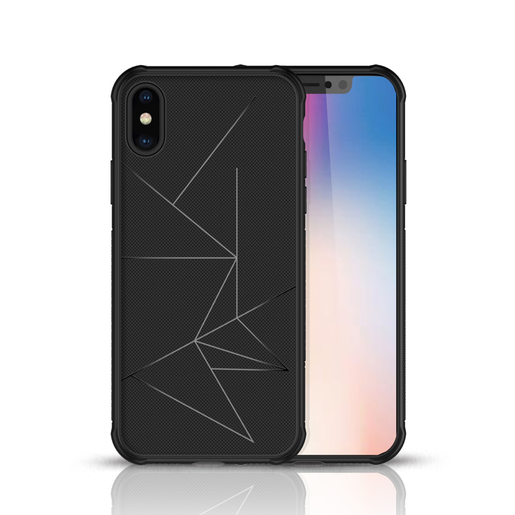 TPU Cell phone case with anti fall for iPhone Xs XR Xs Max with hidden vehicle discs in Half wrapped Cases from Cellphones Telecommunications