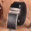 Fashion Casual Snakeskin Printing Pattern Retro Belts, Men's Leather Belts High Quality, Automatic Buckle Belt
