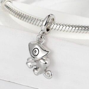 Image 3 - Ciondoli lucertola STEP advance 100% argento Sterling 925 camaleonte collana con bracciale originale con ciondolo per ciondolo da donna