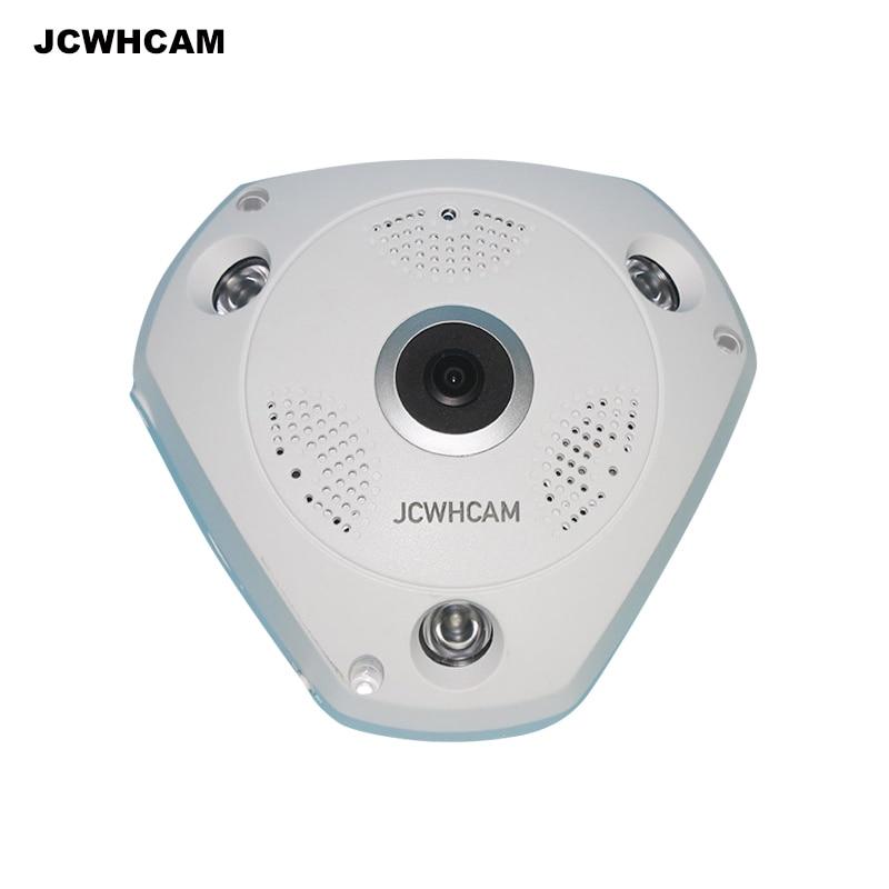JCWHCAM  3.0MP 360 Degree VR Panorama Camera CCTV HD Wireless WIFI IP Camera Home Security Video Surveillance System Webcam