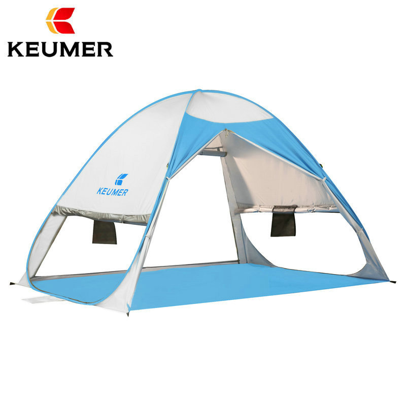 Beach Tent Shelter Cabana Automatic Pop Up Sun shade 2 3 Person Camping Fishing Hiking Canopy
