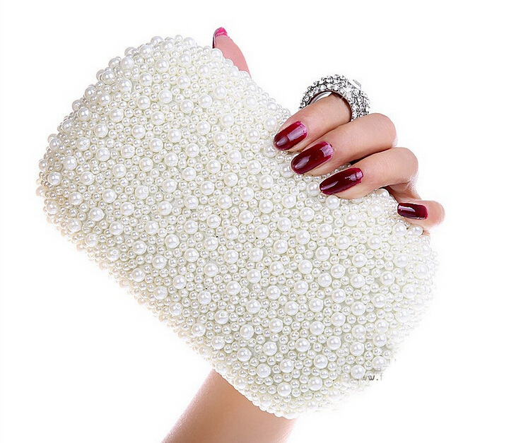 Online Buy Wholesale white clutch purses from China white clutch ...