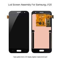 Quality Lcd For Samsung Galaxy J1 2016 J120F LCD Touch Screen Digitizer Display For Samsung J120DS J120G J120M J120H J120 Lcd