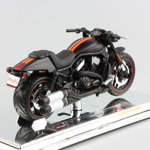 Image 3 - Maisto varilla de noche VRSCDX, Modelo Especial fundido a presión, modelo de motocicleta Cruiser street race, juguete de bicicleta muscular coleccionable, escala 1/18, 2012
